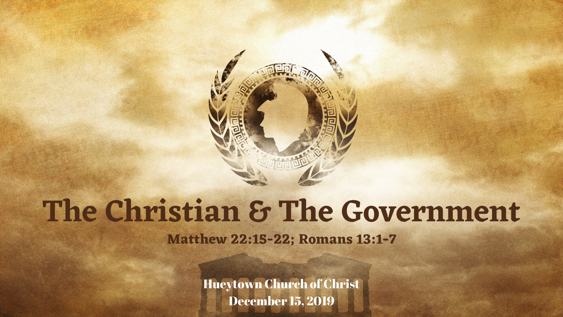 The Christian and Government